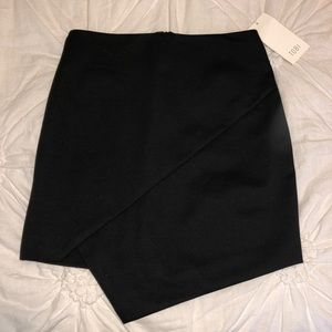 Lisa asymmetric mini skirt